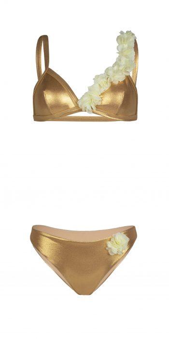 Bikini Paradise Gold Azzurra&Titti Flower