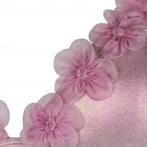 Bikini Paradise Pink Azzurra Fiori In Tulle